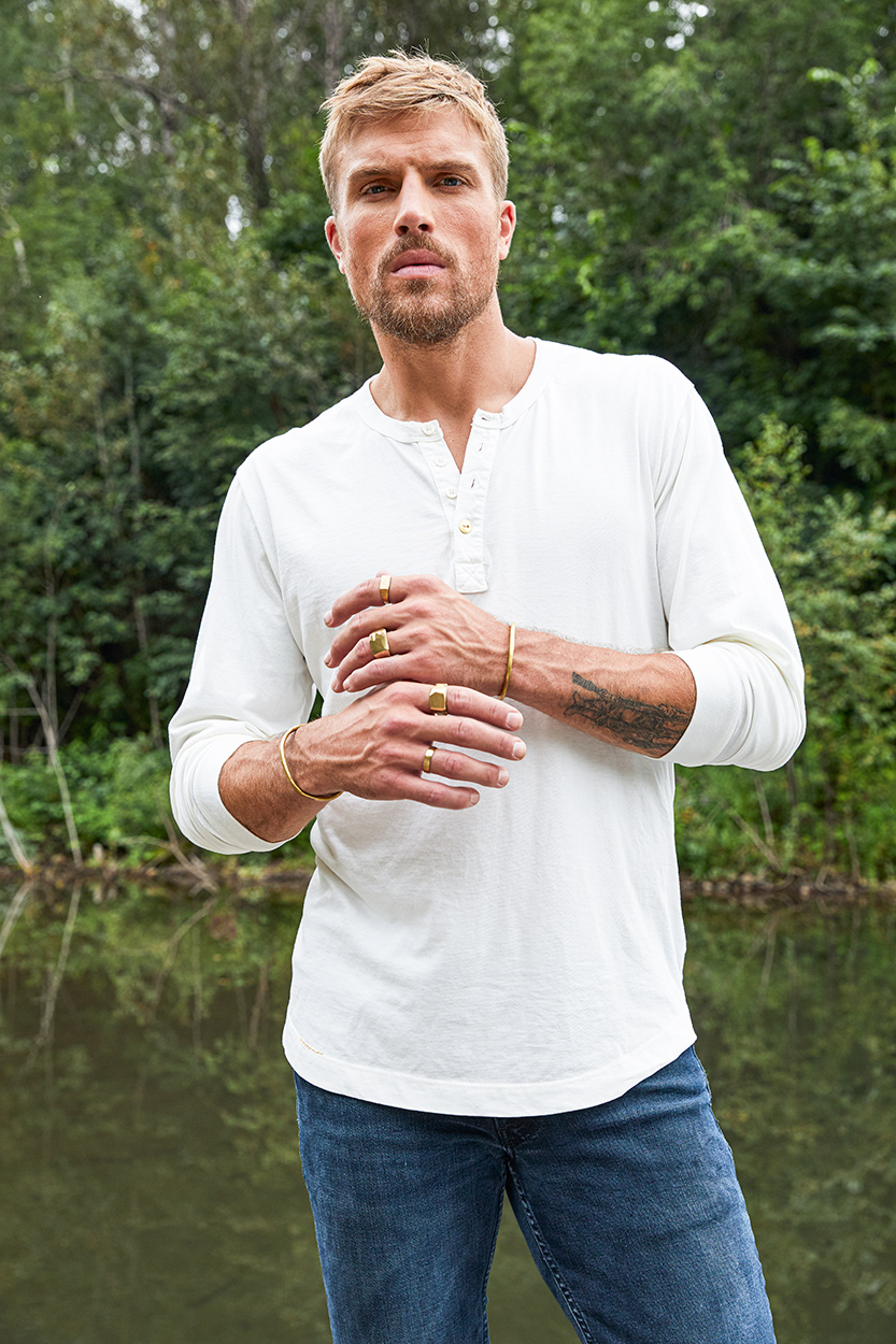 Ranger CO white henley